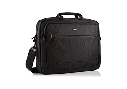 AmazonBasics 17.3-Inch HP Laptop Case Bag, Black, 1-Pack