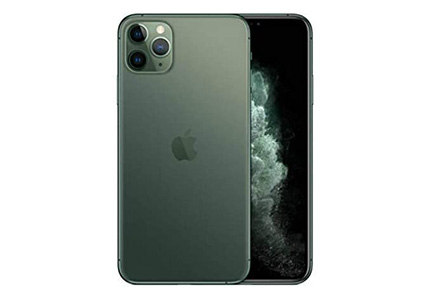 Apple iPhone 11 Pro Max, 512GB, Midnight Green - For AT&T (Renewed)