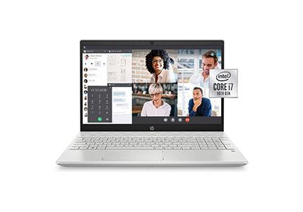 HP Pavilion 15-inch FHD Laptop, 10th Gen Intel Core i7-1065G7, 16 GB RAM, 512 GB Solid-State Drive, Amazon Alexa Voice Compatible, Windows 10 Pro (15-cs3019nr, Mineral Silver)