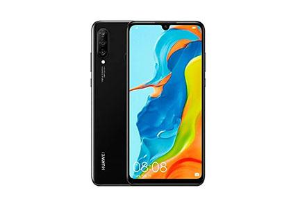 "Huawei P30 Lite (128GB, 4GB RAM) 6.15"" Display, AI Triple Camera, 32MP Selfie, Dual SIM Global 4G LTE GSM Factory Unlocked MAR-LX3A - International Version (Midnight Black)"