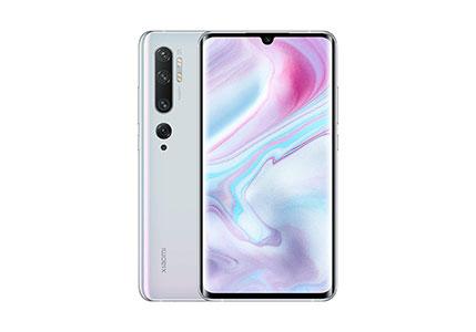 Xiaomi Mi Note 10 128GB 108MP Penta Camera 6.47″ LTE Factory Unlocked Smartphone (International Version) (Glacier White)